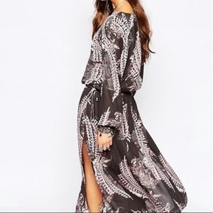 Free People Out Of The Woods Maxi Dress